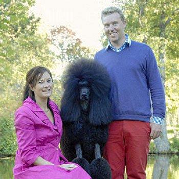 Charlotte Sandell och Peter Palmedal, Huffish Poodles